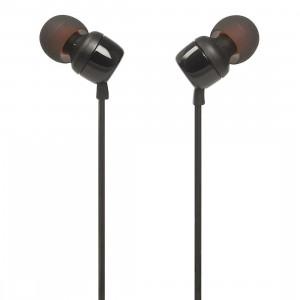 JBL T110 In-Ear Headphones Black